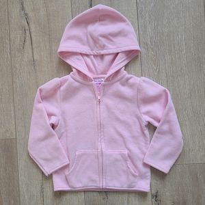 (3/$15) Garanimals Light Pink Fleece Hoodie